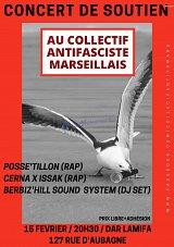 Concert de soutien au collectif antifasciste marseillais