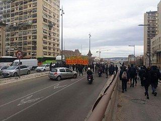 La revue de grève #1 : Une mobilisation sans précédent à Marseille